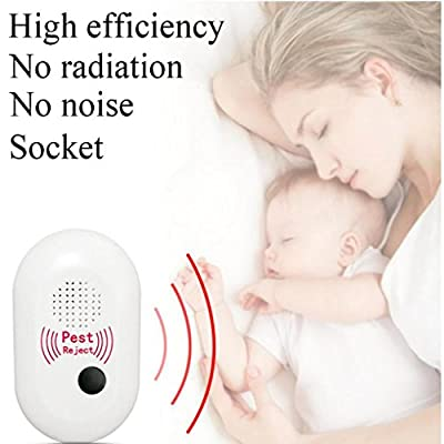 Goodlock Ultrasonic Pest Reject Electronic Magnetic Repeller Anti Mosquito Insect Killer