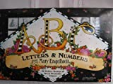 Letters & Numbers from Mary Engelbreit 36 Rubber Stamps w/black washable inkpad