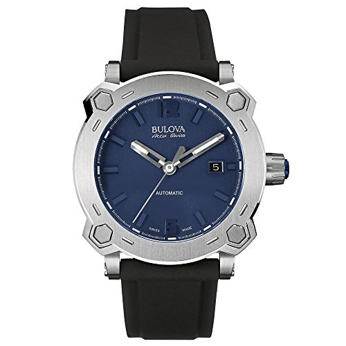 Bulova Automatic Stainless Rubber Casual