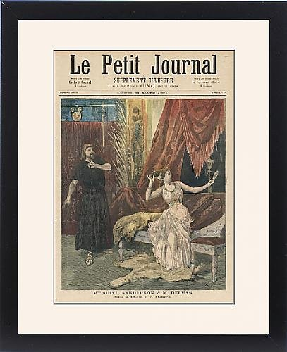 Framed Print Of Massenet/thais/first by Prints Prints Prints