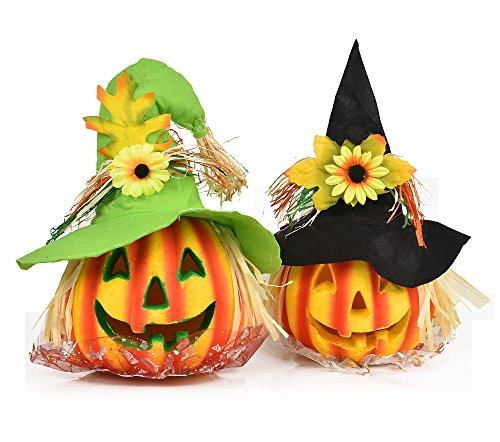Crusar Halloween Decoration Pumpkin Light Toys
