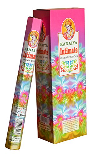 Intimate Scented Incense Sticks From India - 120 Sticks - Made From Natural Scented Oil - Kanaiya Brand By Tikkalife
