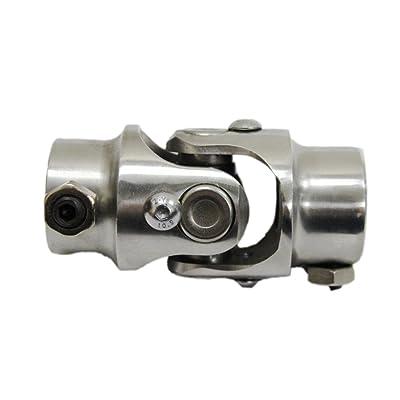 """9/16-26 Spline Manual X 3/4"""" DD Stainless Steel Steering Shaft U Joint: Automotive"""