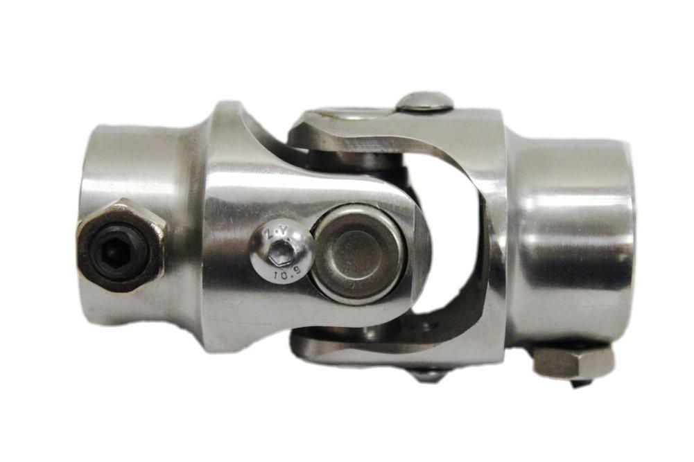 9/16-26 Spline Manual X 3/4'' DD Stainless Steel Steering Shaft U Joint