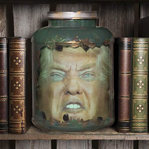 (Donald Trump Head in Jar -
