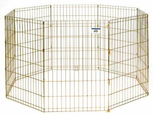 LITTLE GIANT Pet Lodge 36 Inch High Metal Pet Exercise Pen by LITTLE GIANT