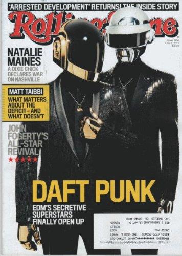 Rolling Stone June 6, 2013 Daft Punk EDM's Secretive Superstars Finally Open Up