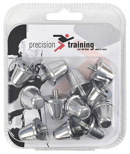 Nueva formación Rugby Union Flat precisión aleación botas de goma tornillo en tacos 18 mm