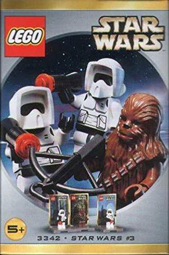 Star Wars Lego # 3342 Figura Set Chewbacca y 2 Biker Scouts