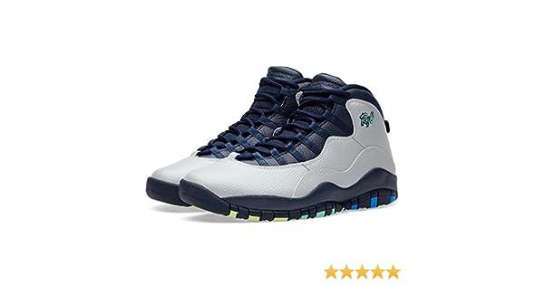 newest 686b1 67402 Amazon.com   Jordan Air X (10) Retro (Rio)   Basketball