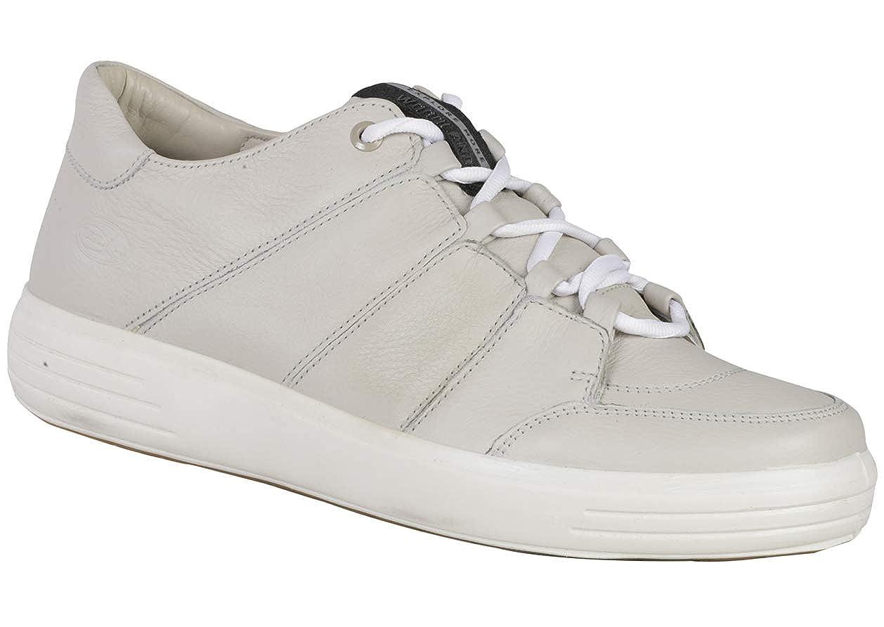 Dove White Leather Sneaker