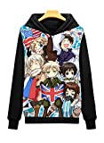 Dreamcosplay Anime Hetalia: Axis Powers Pullover Hoodies (Asian Size M)