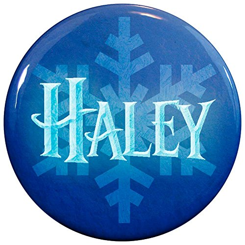 Buttonsmith® Haley Winter Ice Name Tag (Haley Jewelry)