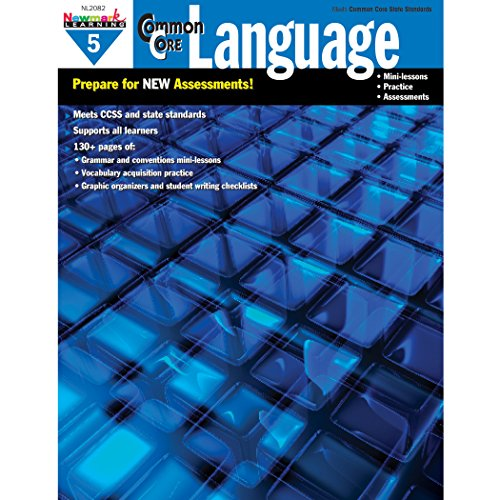 Newmark Learning Common Core Practice Language Grade 5