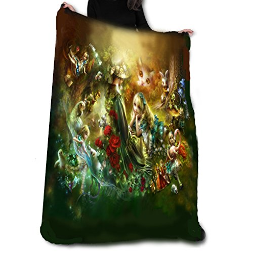 Wild Star Home Memories of Wonderland Fleece Blanket/Throw/Tapestry etc.Official Anne Stokes Offical Merchandise