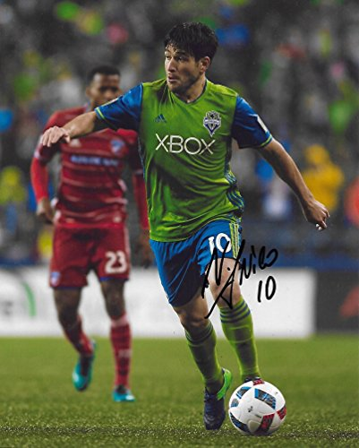 Nicolas Lodeiro, Seattle Sounders FC, Signed, Autographed, Soccer 8X10 Photo, a Coa with the Proof Photo of Nicolas Signing Will Be Included..