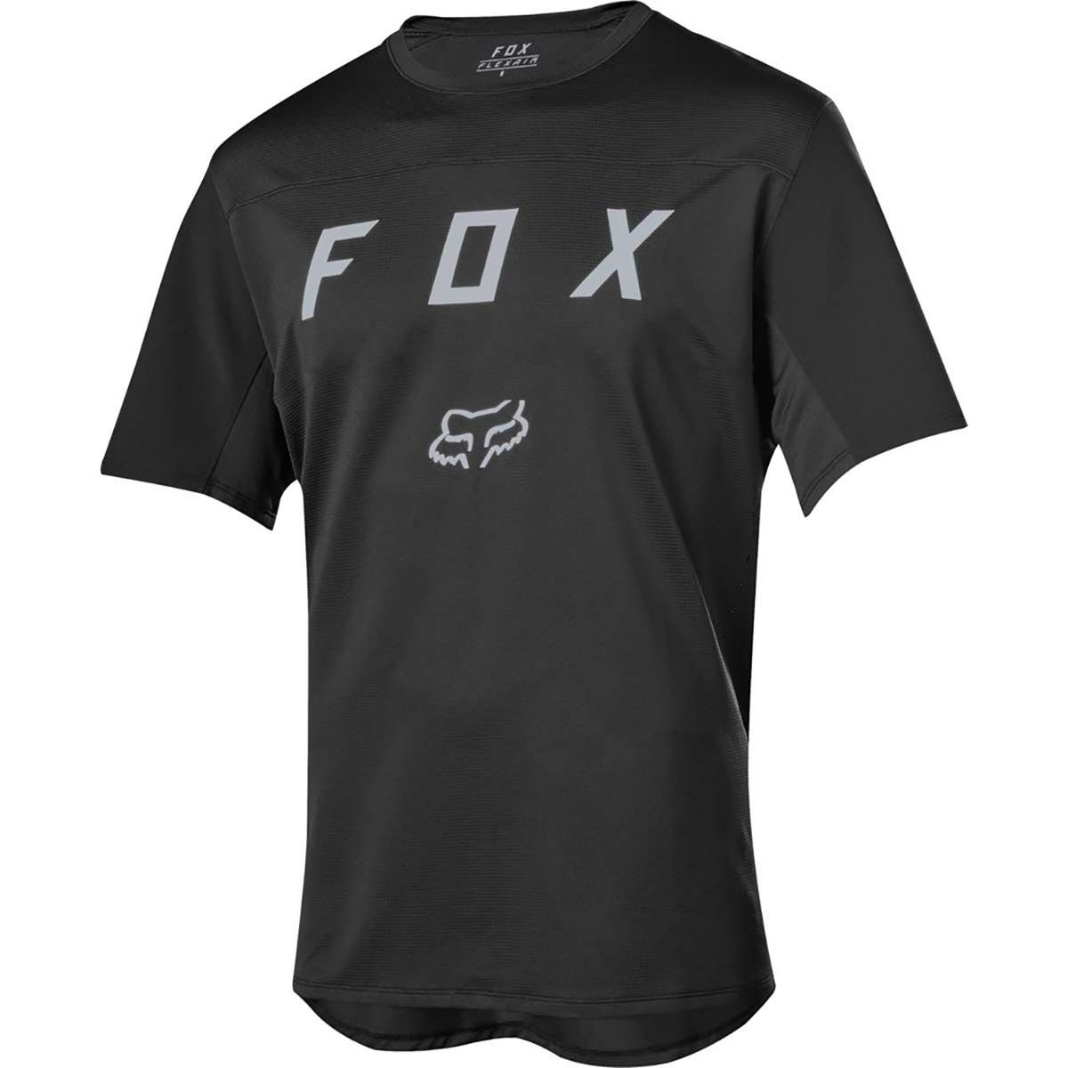 Fox Racing Flexair Moth Short-Sleeve Jersey - Men's Black, XXL