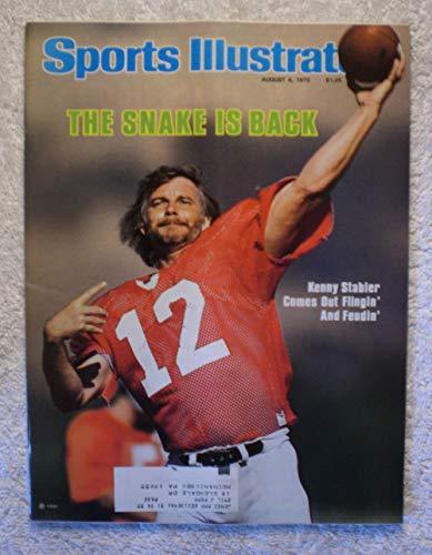 Ken Raiders Oakland (Ken Stabler (The Snake) - Oakland Raiders - Sports Illustrated - August 6, 1979 - SI)