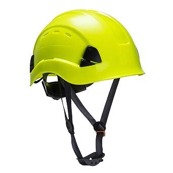 Casco de seguridad para escalada con ventilación y correa para la ...