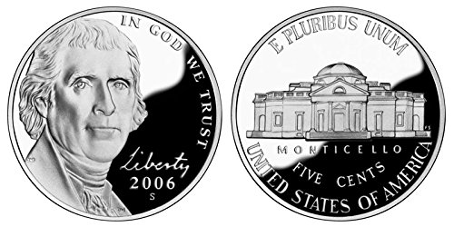2006 S Proof Jefferson Nickel PF1