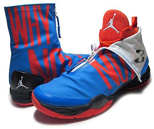 separation shoes 27af2 1b528 Amazon    ナイキ  AIR JORDAN XX8 PE Westbrook OKC PACK WHY NOT  p.blu wht-blk  31cm:US13  並行輸入品    バスケットボール