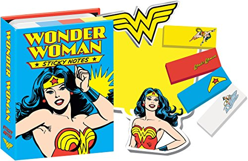 Notepad Booklet - DC Comics Wonder Woman Sticky Notes Booklet