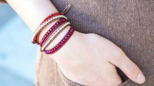 Leather Wrap Bracelet -