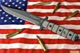 Tops Knives USMC Combat Knife Model US-01, Outdoor Stuffs
