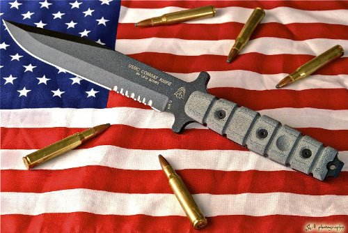 Tops Knives USMC Combat Knife Model US-01, Outdoor Stuffs