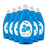 Mountain Falls Ultra Concentrated Dish Soap, Clean Scent, Compare to Dawn, 24 Fluid Ounce (Pack of 6)