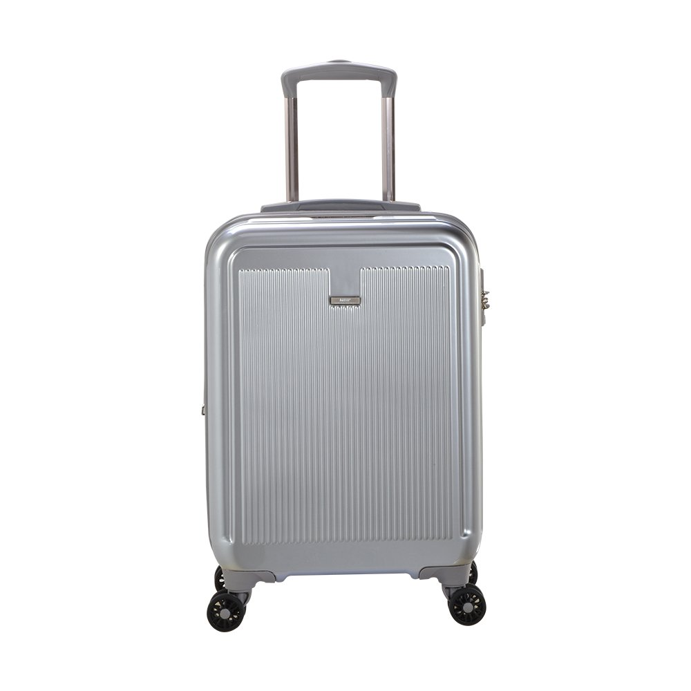 Master Massage Stanwell 20' Expandable Abs Carry-on Luggage, Silver Master Home Products LTD.