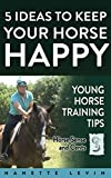 5 Ideas to Keep Your Horse Happy: 5 tips to make young horse training easier while creating better bonds, trust and results (Young Horse Training Tips Book 1)