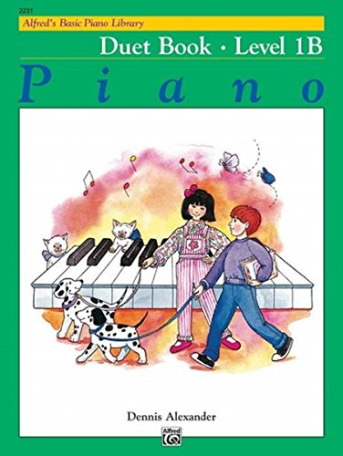 Basic Piano Duet Book - Alfred's Basic Piano Library: Duet Book, Level 1B