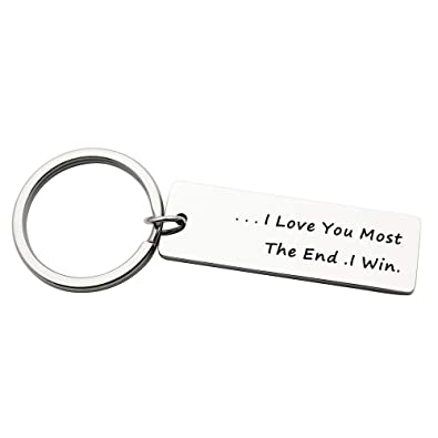 Boyfriend Gift I May Not Be Your First Date Keychain Valentines Day  Christmas for Him or Her