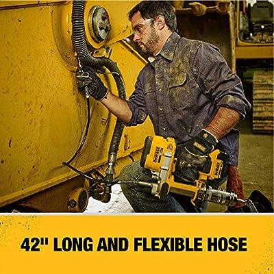 DEWALT 20V MAX Cordless Grease Gun (DCGG571M1): Home Improvement