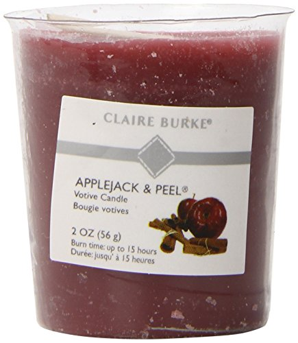 Claire Burke Applejack and Peel Votive Candles