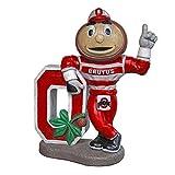 Stone Mascots - Ohio State University ''Brutus Buckeye'' College Stone Mascot