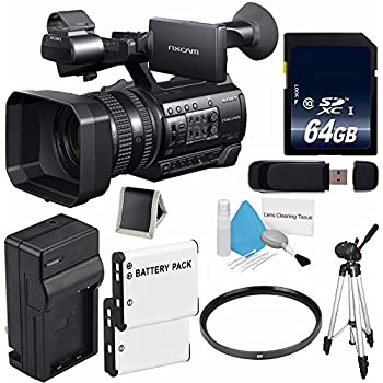 sony hxr nx100 nxcam camcorder 64gb memory card electronics. Black Bedroom Furniture Sets. Home Design Ideas