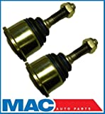 Mac Auto Parts 67455 Lincoln LS mm Lower Ball Joint Joints Set New Jaguar SType