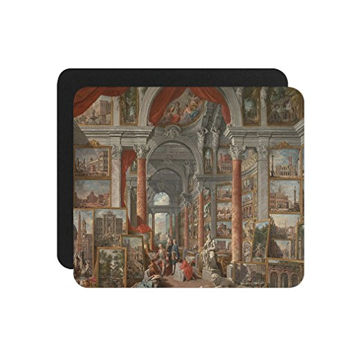 Picture Gallery Views Of Rome (Pannini) Computer Laptop Mouse Pad