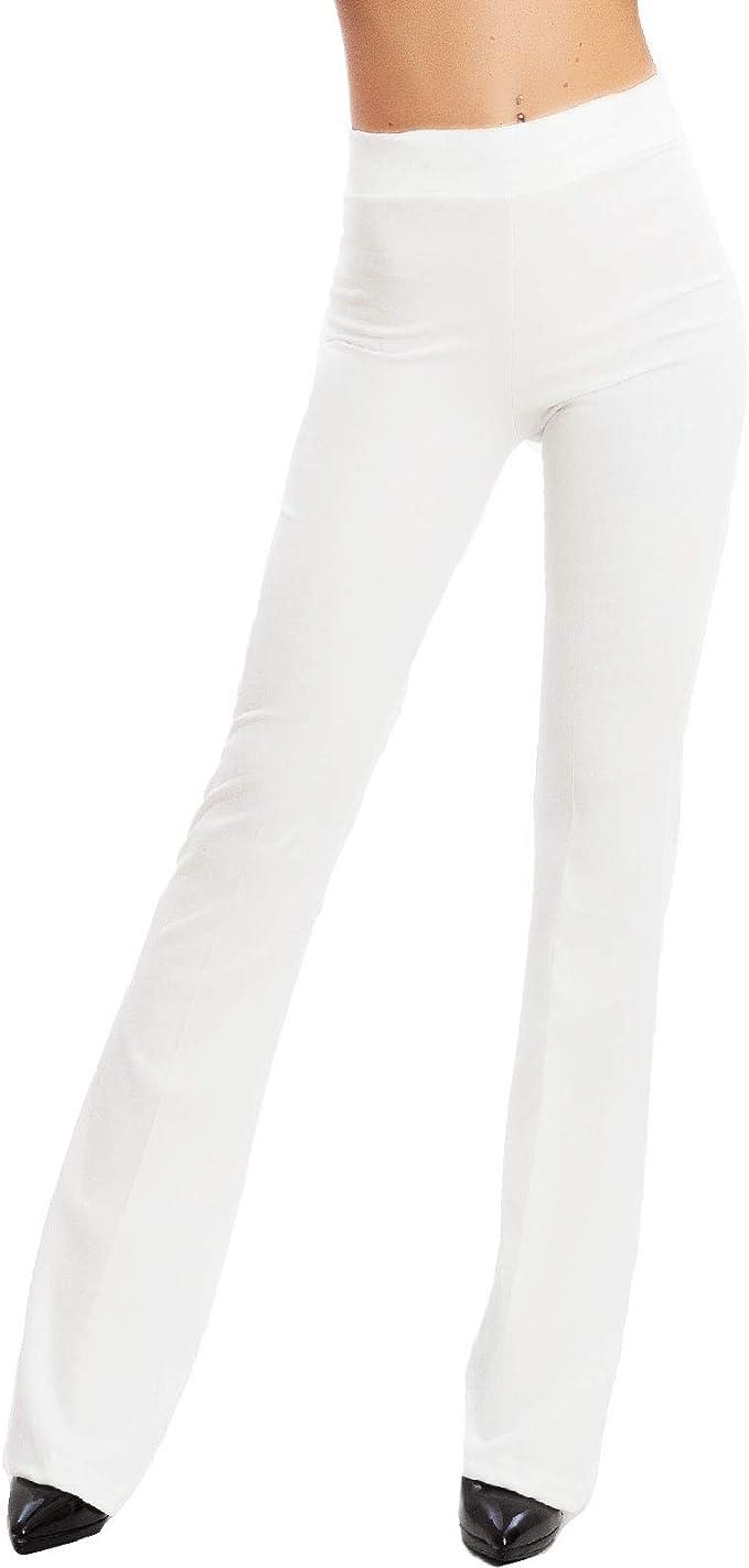 Vimbloom Pantalones de Yoga Bootcut para Mujer Largo Pata Anchos Pantal/ón de Piltes Cintura Alta Deportivos Leggins con Bolsillos para Yoga Fitness VI490