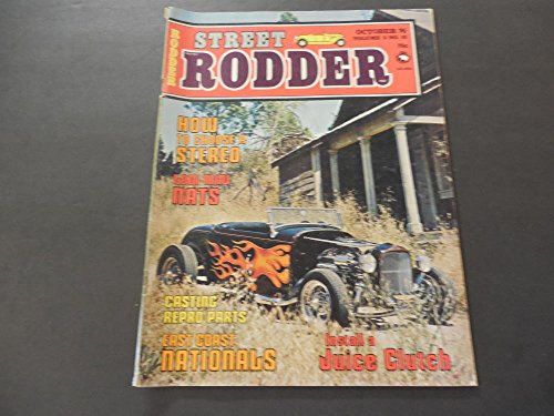 Street Rodder Oct 1974 Casting Repro Parts; E Coast Nationals; Clutch