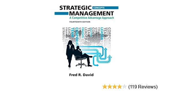 Amazon strategic management a competitive advantage approach amazon strategic management a competitive advantage approach concepts 14th edition 9780132666213 fred r david books fandeluxe Gallery