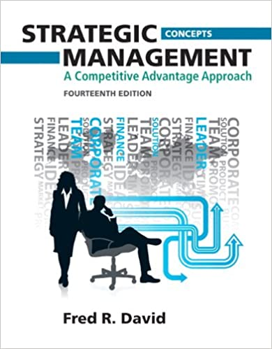 Strategic Management Concepts And Cases 14th Edition Pdf