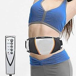 Valuu Electric Slimming Belt Weight Lose Magnet Belt Vibration Massage Fat Burner Body Shake Belt Lose Weight Shake Belt Waist Trainer Belly Vibro Shape Vibrating Heating Belt for Men & Women