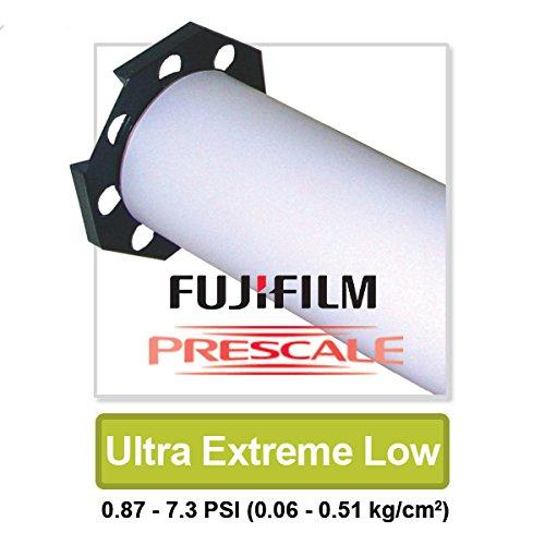 Fujifilm Prescale Ultra Extreme Low Tactile Pressure Indicating Sensor Film by Fujifilm Prescale