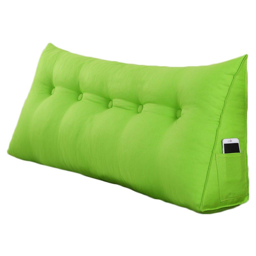 ZWL Sofá de la cama Triángulo Cojín de color sólido Respaldo dimensional Proteger la almohada de la cintura Cojín de la espalda de la oficina Cojín lumbar suave Cojín de la cintura Almohada del paño d