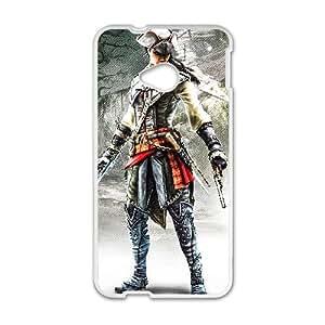 HTC One M7 White phone case Assassins Creed Aveline de Grandpr¨¦ Fashion players preferred OKE9199156