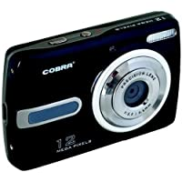 COBRA DIGITAL DCA1220-BLACK 12.0 Megapixel DCA1220 Digital Camera (Black)