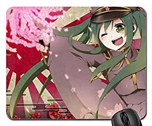 cute anime girl Mouse Pad, Mousepad (10.2 x 8.3 x 0.12 inches)